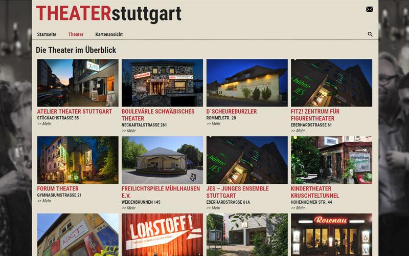 Übersicht der Theater - Theater Stuttgart