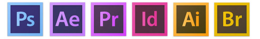 Wir arbeiten mit Adobe® Kreativ-Tools