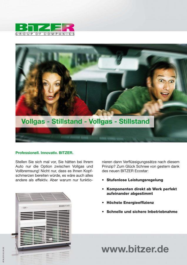 Anzeigen Motiv für den Ecostar von BITZER