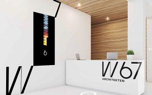 Brand Identity für W67 Architekten