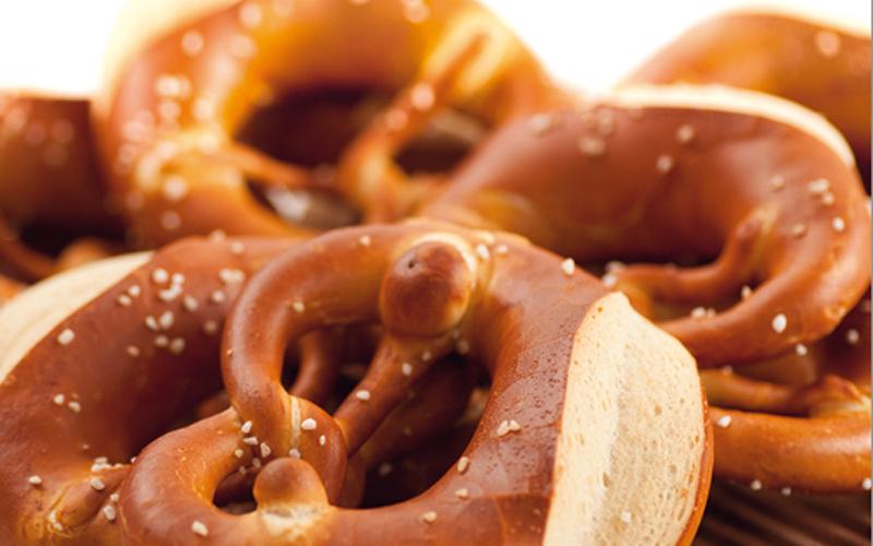 Leckerbäcker - Close-Up Aufnahme von Brezeln für die Bäckerei-Kette Clement