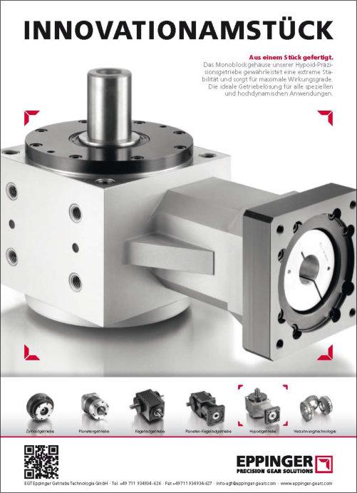Technische Imageanzeige für Eppinger, die den Mehrwert des Produkts herausstellt