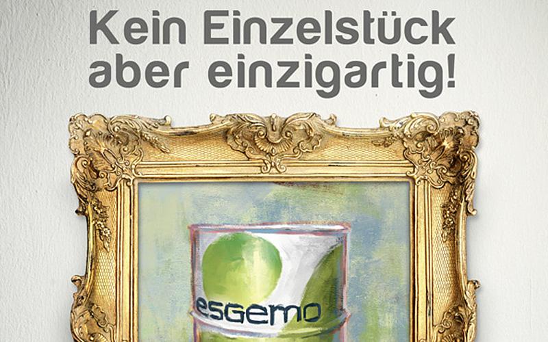 B-to-B Imageanzeige für die esgemo Schmierstofftechnik GmbH