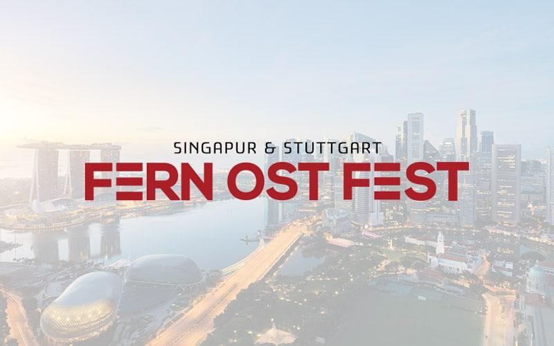 Eventkommunikation für das Fern Ost Fest