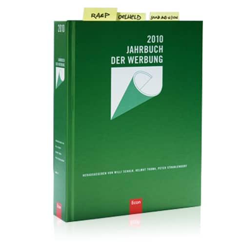 Jahrbuch der Werbung 2010 - die Ars Cordis Werbeagentur aus Stuttgart ist mehrmals vertreten