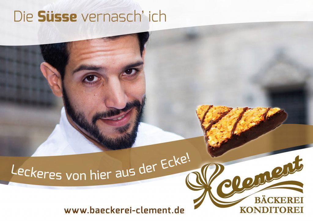 Kreative Bäckerwerbung von der Ars Cordis Werbeagentur Stuttgart