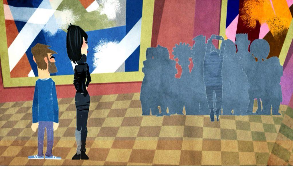 Animation eines Image- / Erklärfilms für Crowdfunding