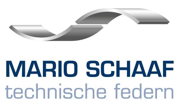 Abbildung des neuen Firmenlogos für die Mario Schaaf Technische Federn GmbH & Co. KG