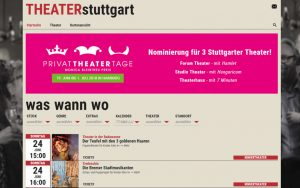 Neue Theater Plattform in Stuttgart – Theater Stuttgart