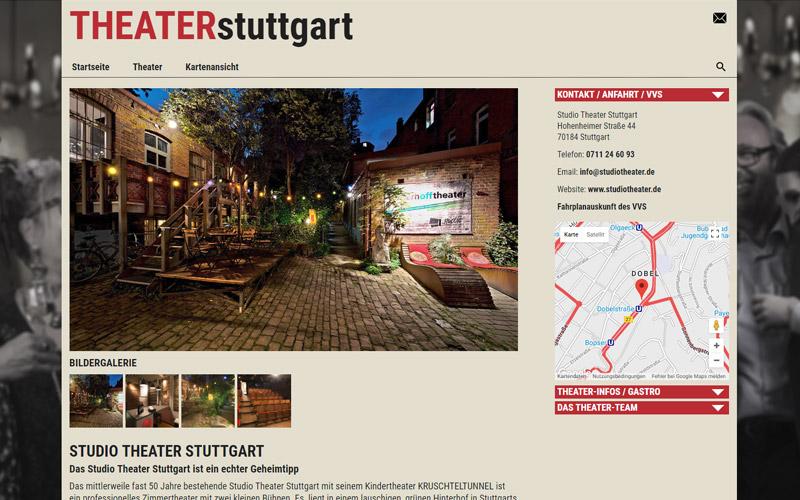 Theateransicht - Theater Stuttgart